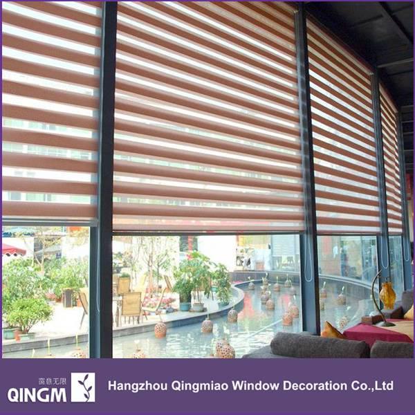 New Window Curtain Ready Made Stripe Pattern Zebra Blind