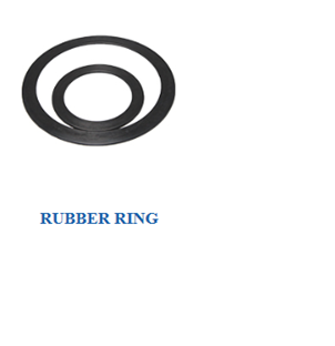 Rubber ring of Heat exchanger parts