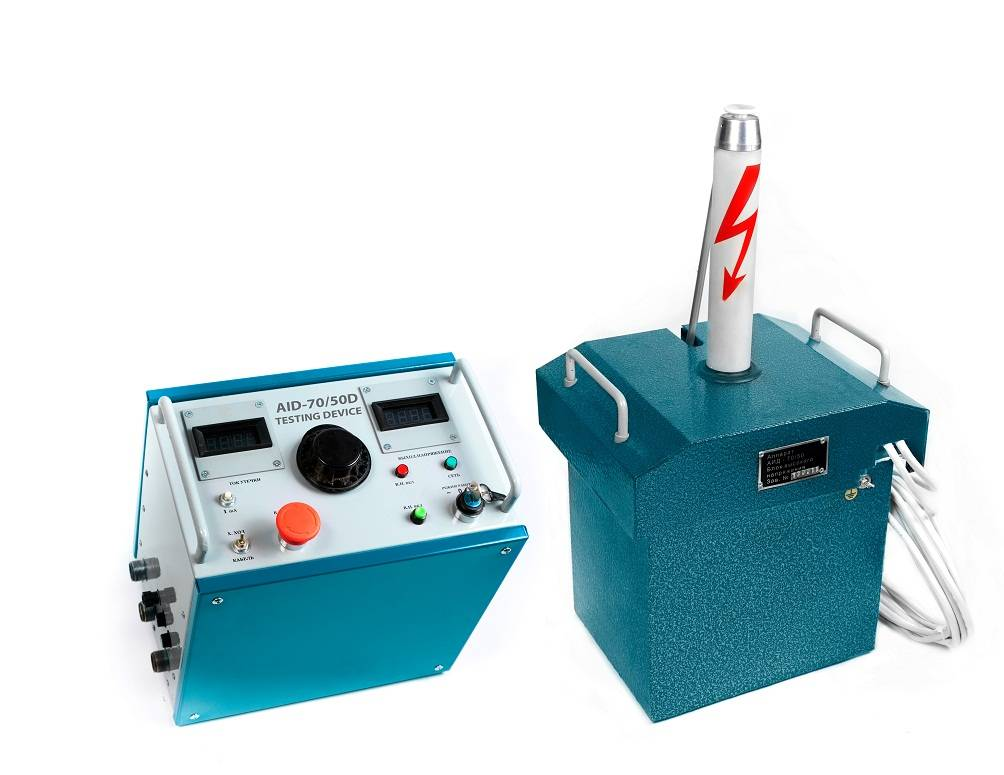 AID-70/50 hipot testing device
