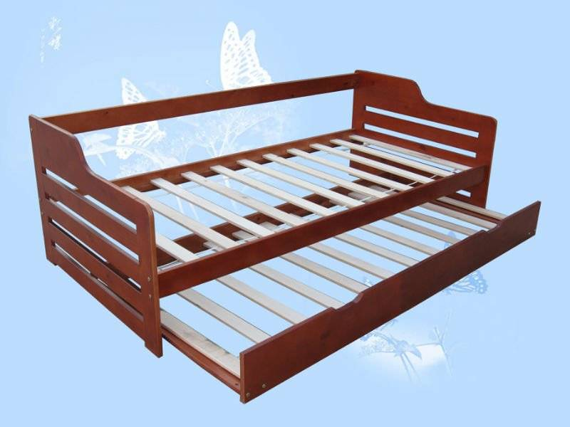 solid wood furniture for wood safa bed