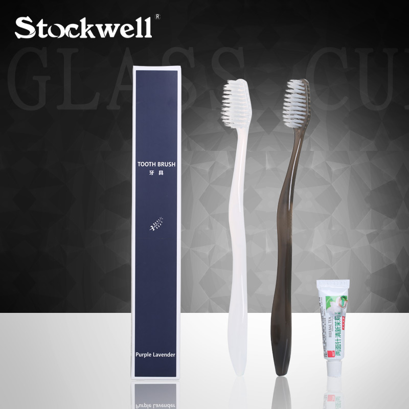 Stockwell Hotel Disposable Soft Bristles Toothbrush Set