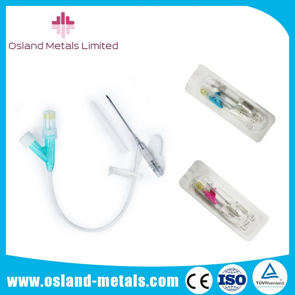 China Safety Disposable Y Type I.V. Cannula I.V Catheter with Different Color of High Quality