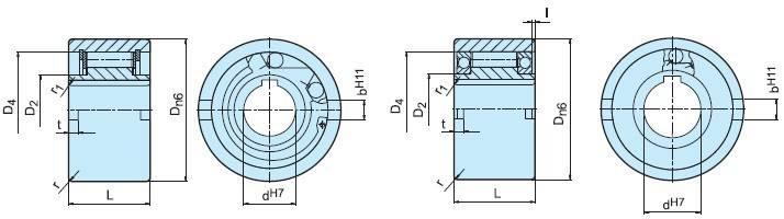 NFR55 One wayclutch overrunning clutch cam clutch one way bearing