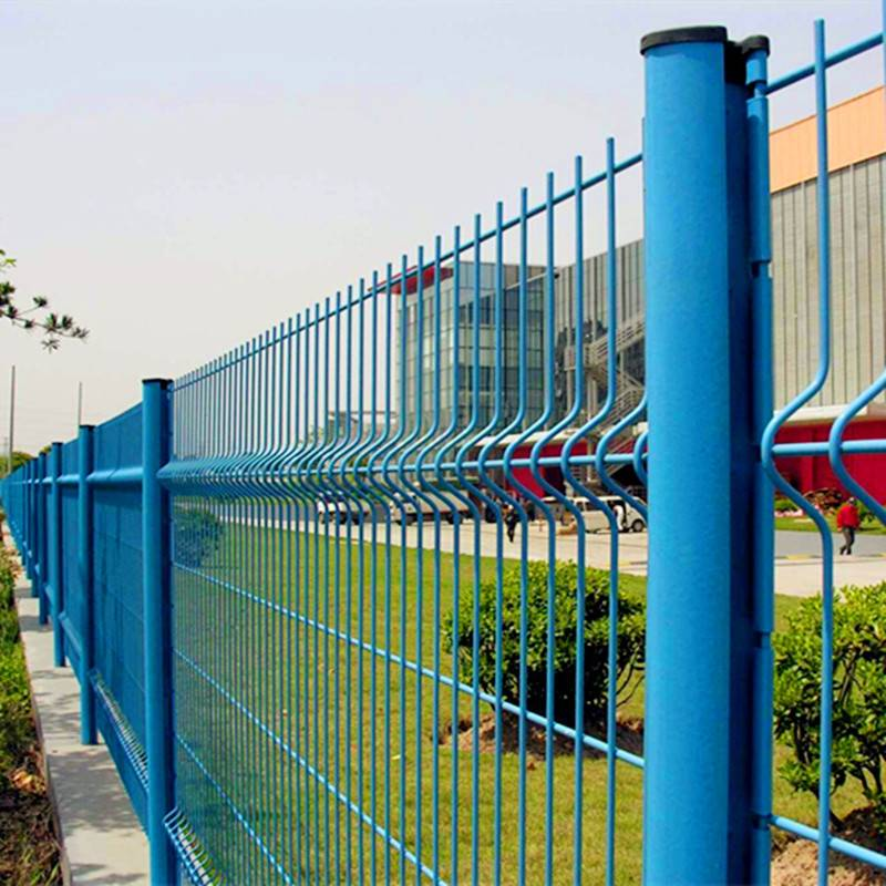 High quality and ecomical 3D curved wire mesh fence