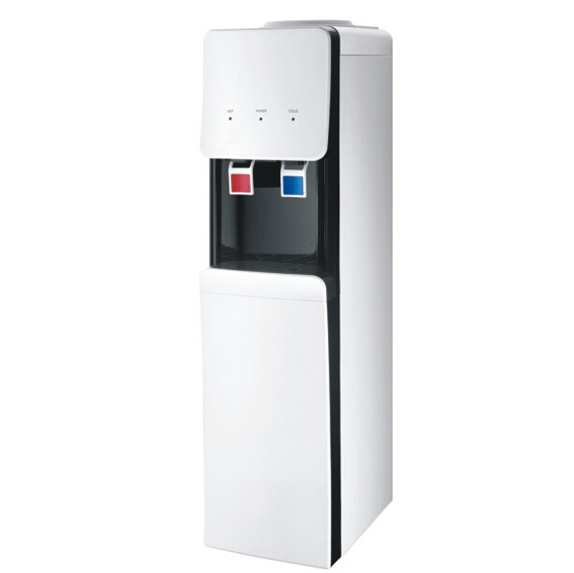 Korean style floor standing hot & cold water dipsenser with cabinet