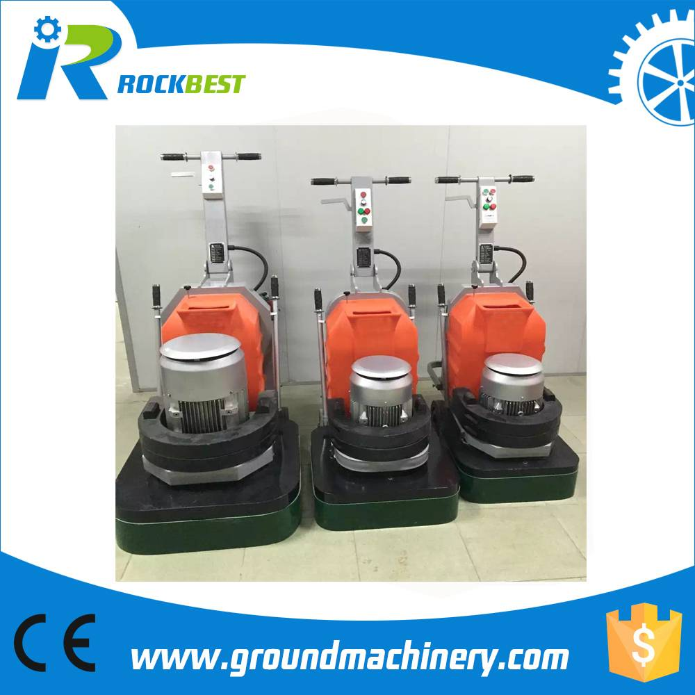 big power 380V concrete floor grinding machine