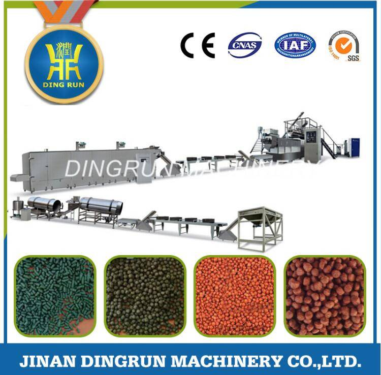 floating fish feed production machinery