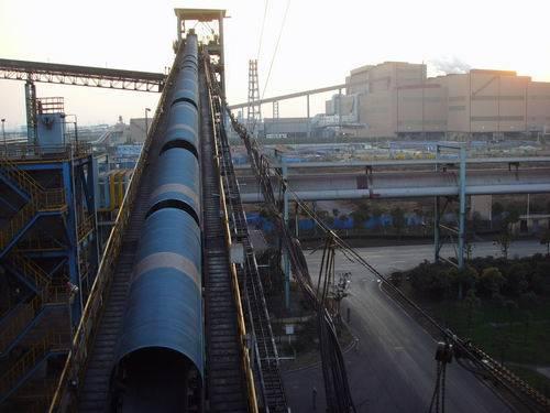 Enviornmnet friendly tubular conveyor belt
