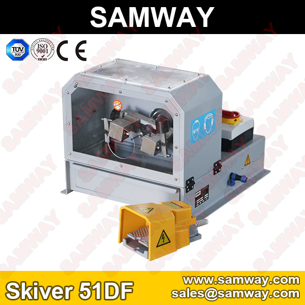 Samway Skiver 51DF Hydraulic Hose Skiving Machine