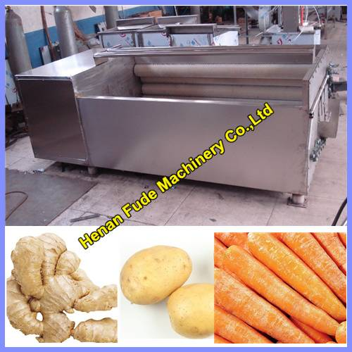 hot selling potato cleaning and peeling machine