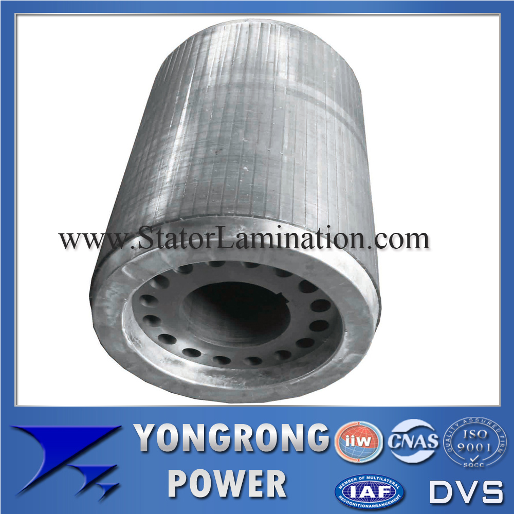 IE3 Premium Efficiency Electric Motor Centrifugal Cast Aluminum Rotor Core