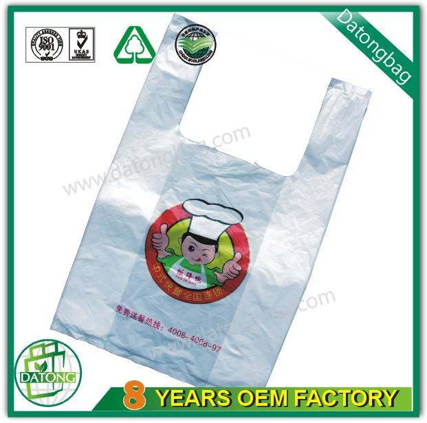 supermarket packaging bag plastic vest bag shopping bag