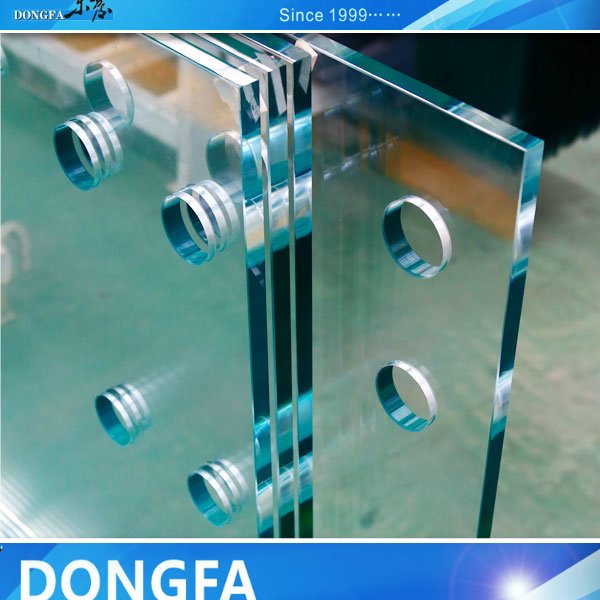 strong SGP film glass for stairs