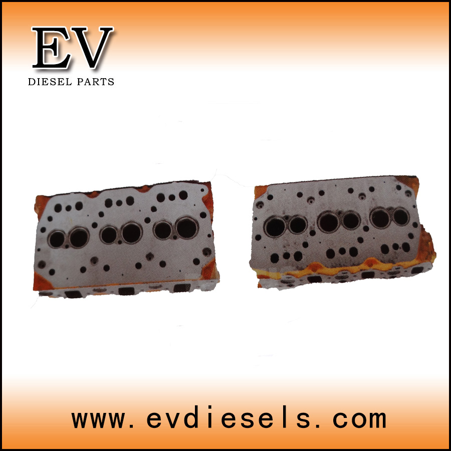 Auto Cylinder head S6K 6DB10 6D16 6D31 6D22 6D40 6D24  engine parts for Mitsubishi  engines