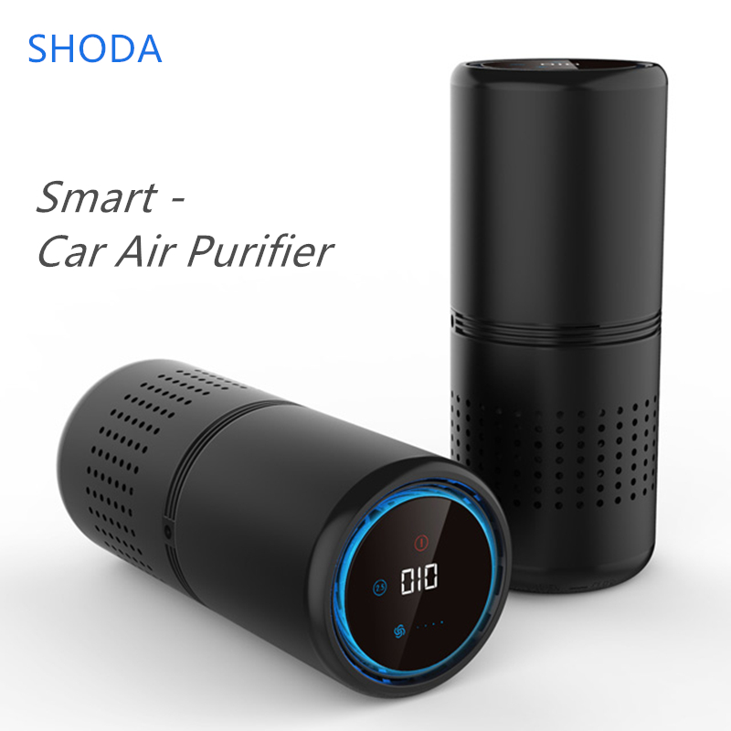 Portable Air Purifier with HEPA Filter Fresh Air Anion Cleaner Car Air Purifier for Car