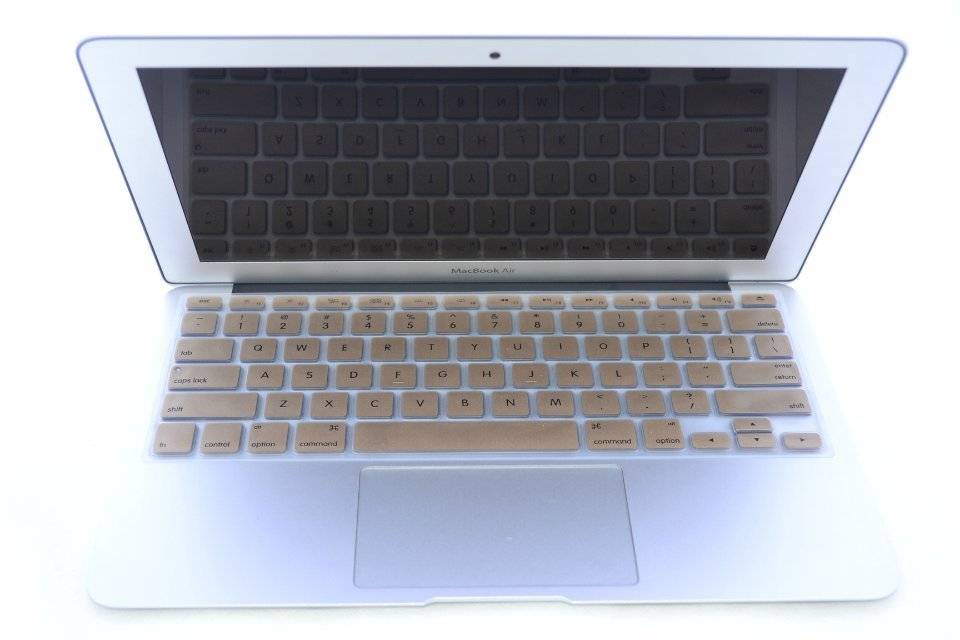 Golden Keyboard Protector for Macbook