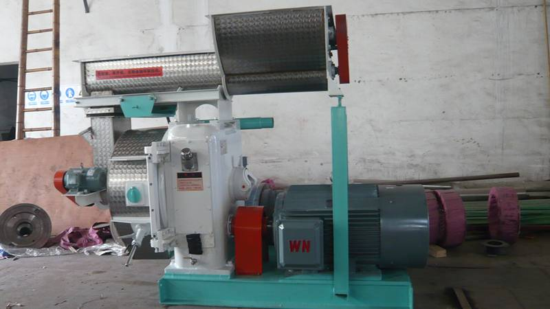 MZLH 1-2t/h wood pellet mill/machine