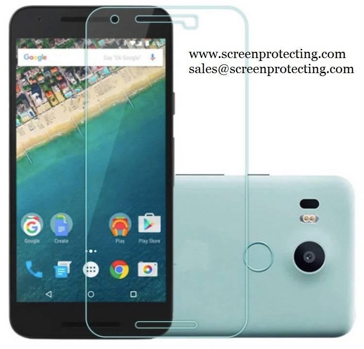 2.5D Screen Guard Screen Shield 9H Premium Tempered Glass Screen Protector for Google Nexus 5X