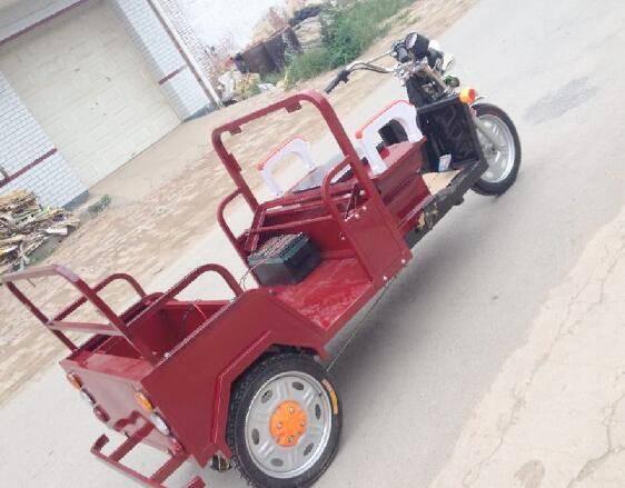 3 wheel motorized bike three electric cargo tricycle