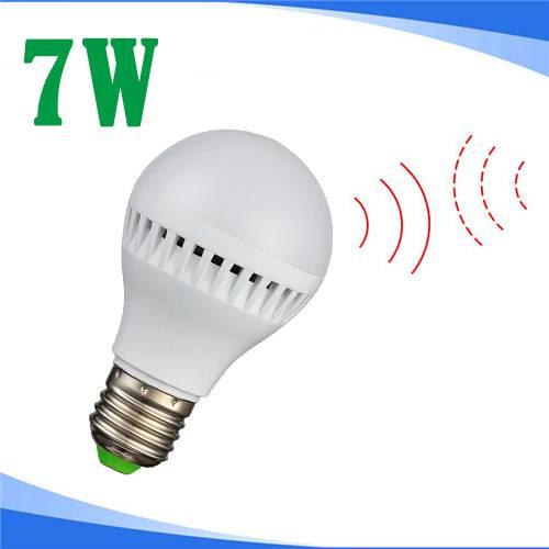 7W LED Motion Sensor Bulb Light