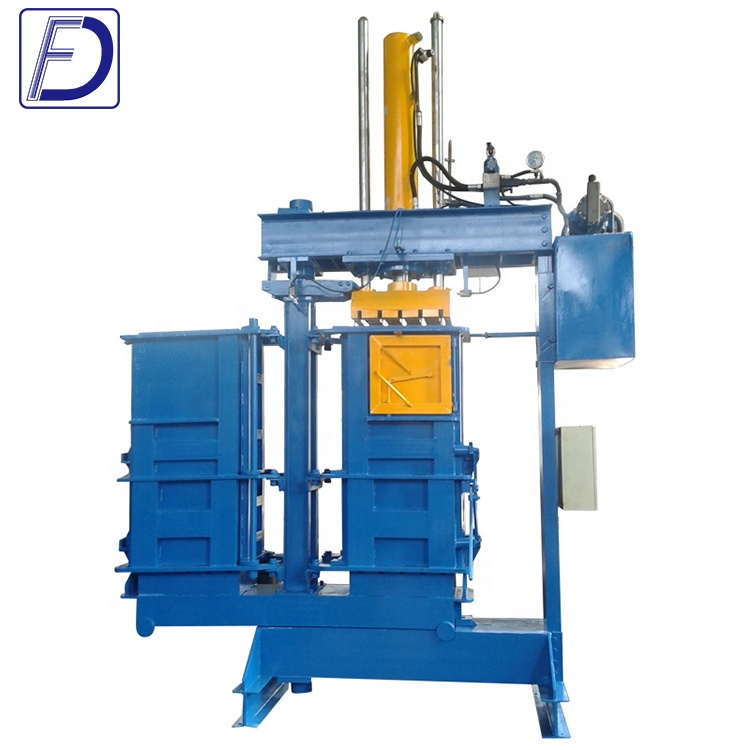 Used Cloth Baler with Factory Supply