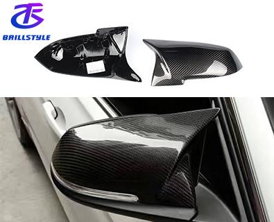 Carbon Fiber Mirror Cover For BMW F20 F22 F23 F30 F32 F33 F36 F87 M2 X1 2012+