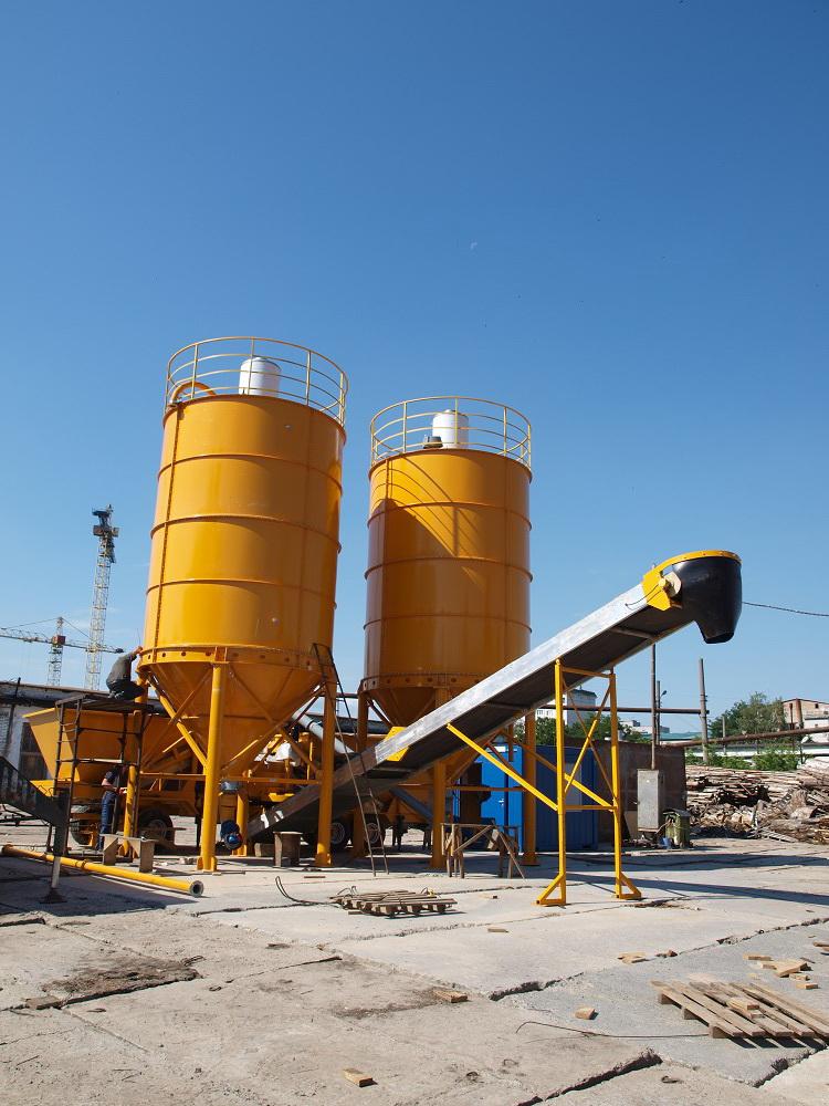 SALE M-2200 (50m3/h) Movable concrete batching plant