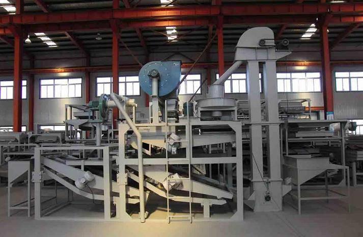 Oat hulling machine, oat dehulling machine