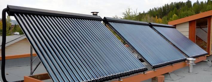 solar collector water heat