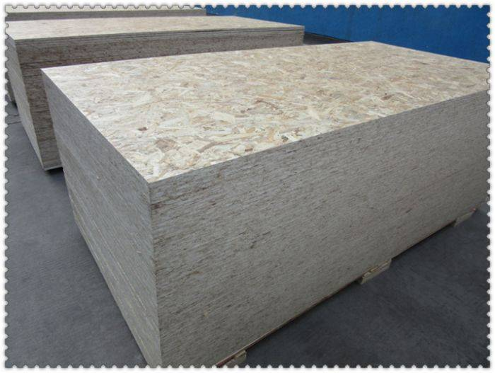 Oriented strand Board used in packing/construction/furniture