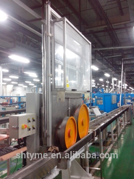 Fiber optical cable secondary coating production line