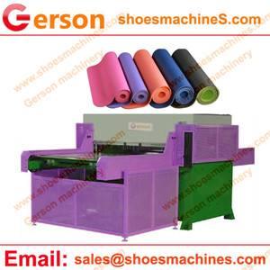TPE/PVC/NBR/EVA Foam Yoga Mats Die Cutting Machine