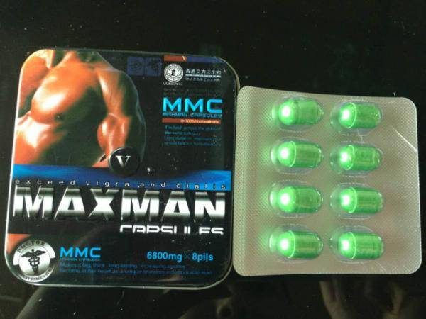 MAXMAN V 5 MALE SEX capsule for men henhancer