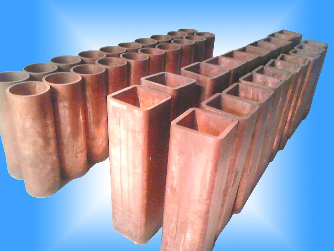 Rectangular Copper Mould Tube