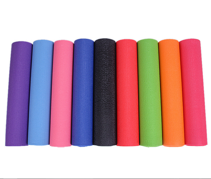 Non Slip Yoga Towels Printed With Company Logo TPE yoga mat for sale