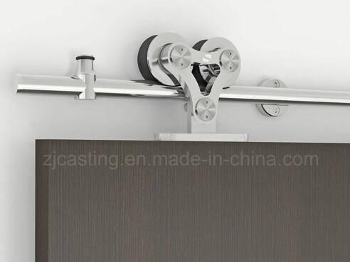High quality modern wooden sliding door hardware