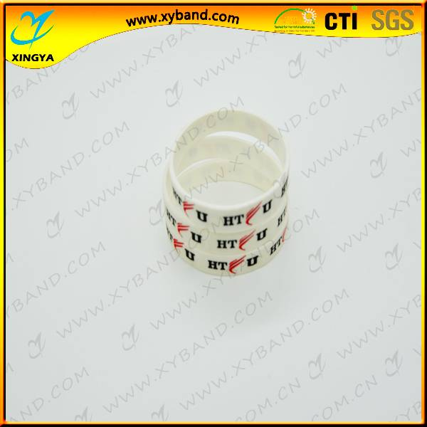 Promotional inexpensive silicon bracelet for festival