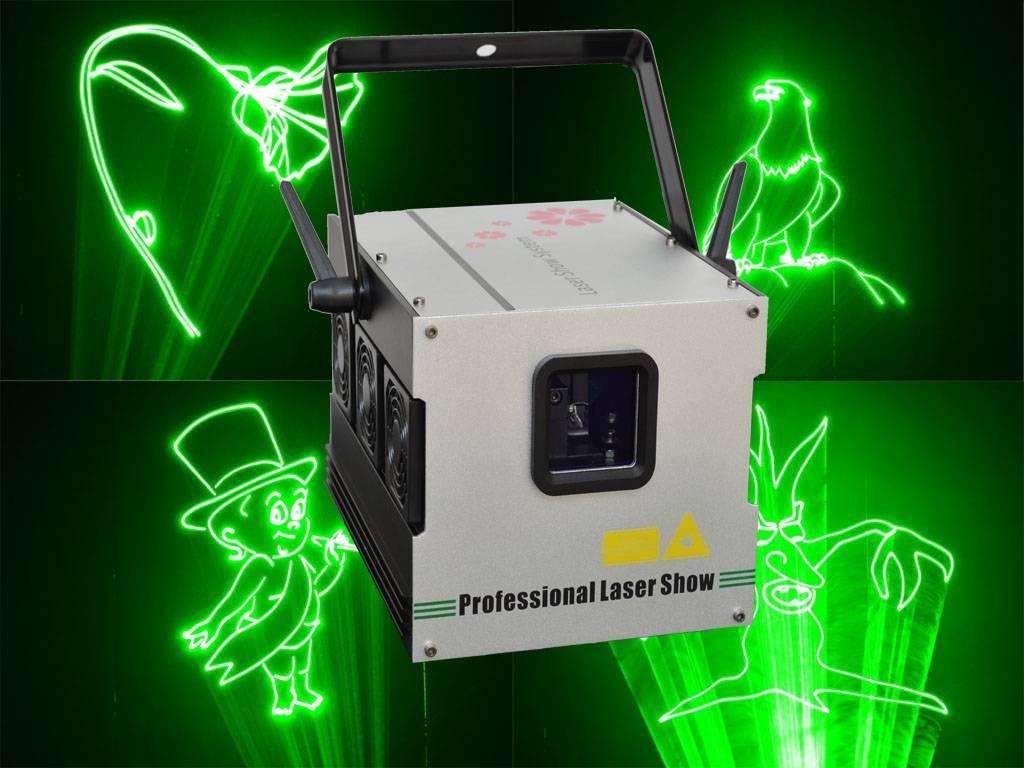 cheap 400mW green mini party laser light