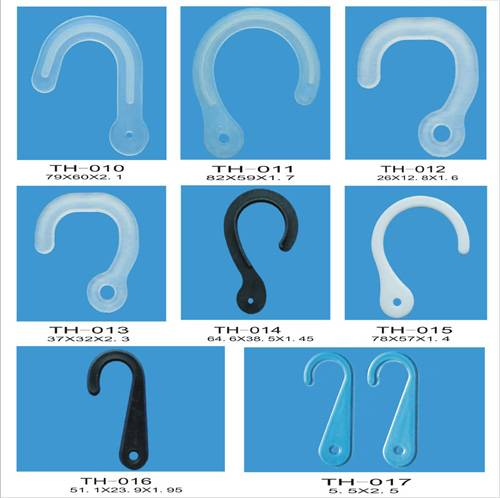 High quality of plastic tackle hooks TH010-TH017 produced by our own