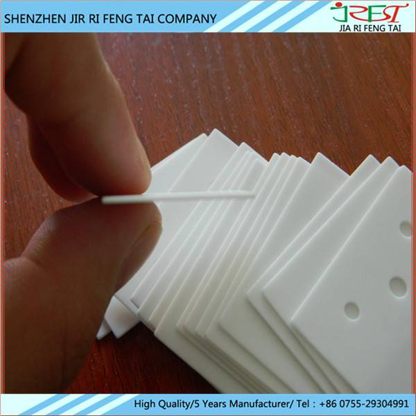 High Hardness High Thermal Conductivity Insulation Electronic Alumina Ceramic sheet