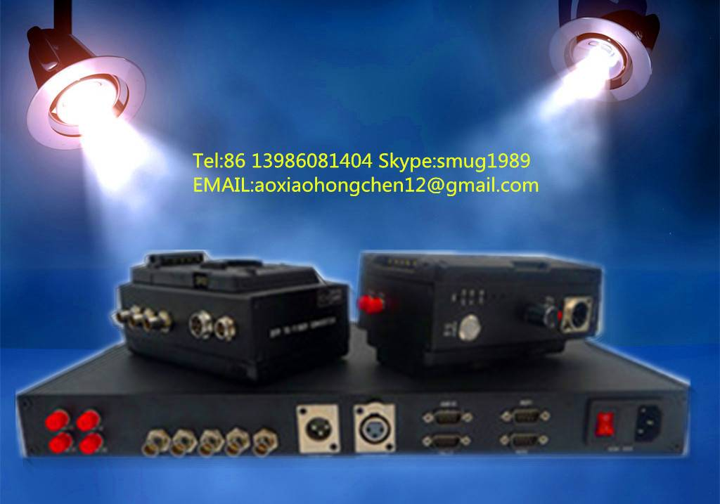 JM-EFP-S5 for Sony/Panasonic/JVC Camera EFP Fiber system with Party-line audio,compatible Clear-com,