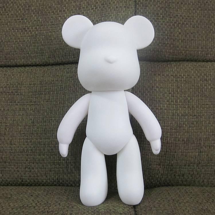 18cm RUBBER diy Momo Bears Diy Art Platform Toys