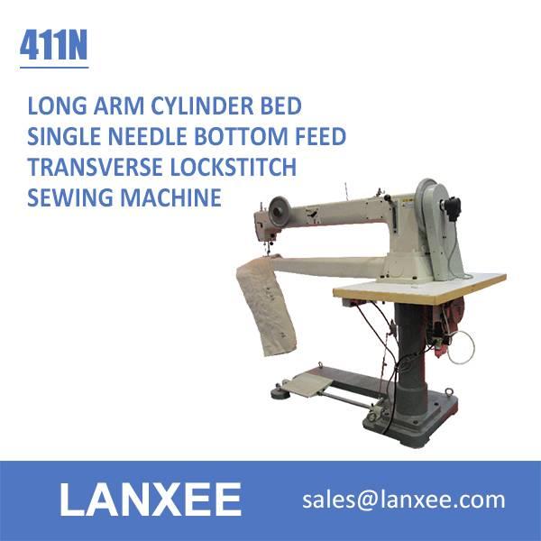Lanxee 411N single needle long arm filter bag sewing machine