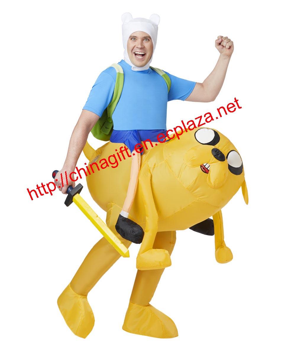 Adventure Time Finn Inflatable Adult Costume