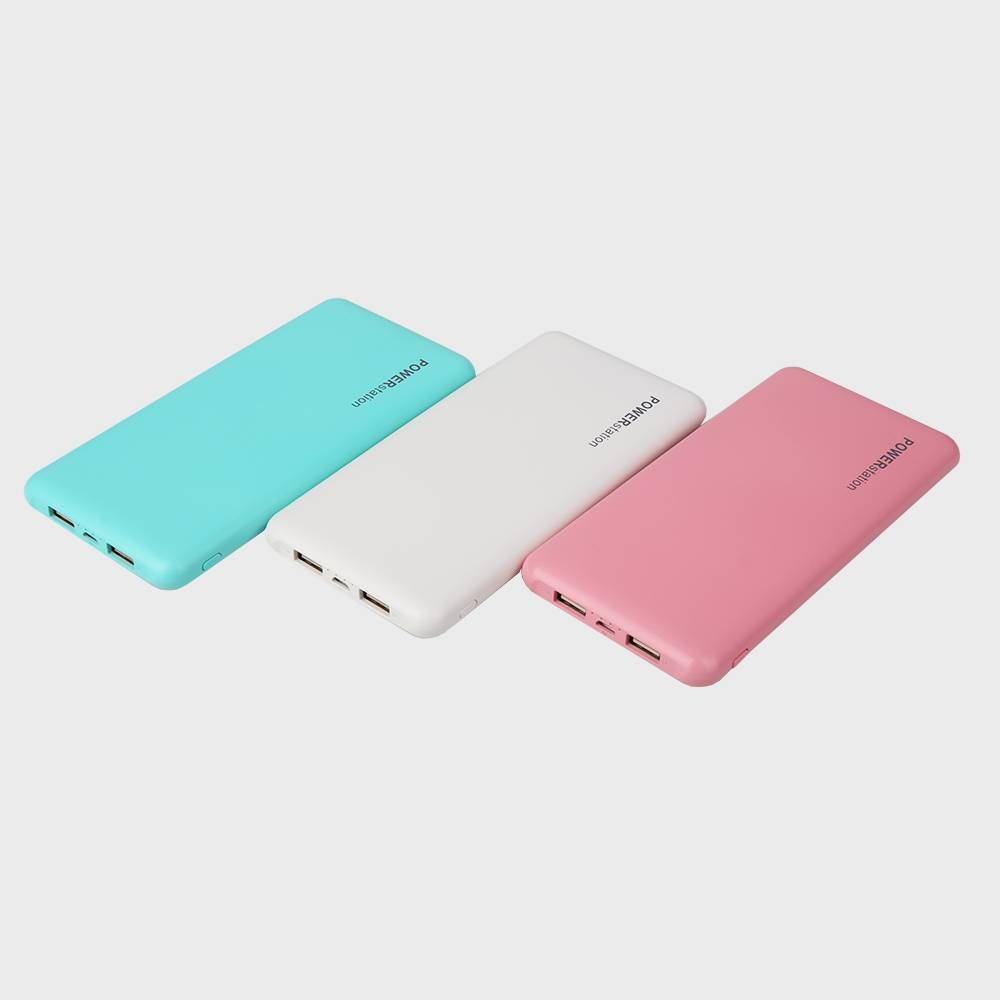Shenzhen Manufacturer Bulk Supply 10000mah Power Bank Charger with Dual Port