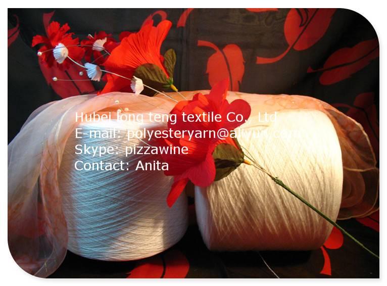 Top quality spun polyester yarn