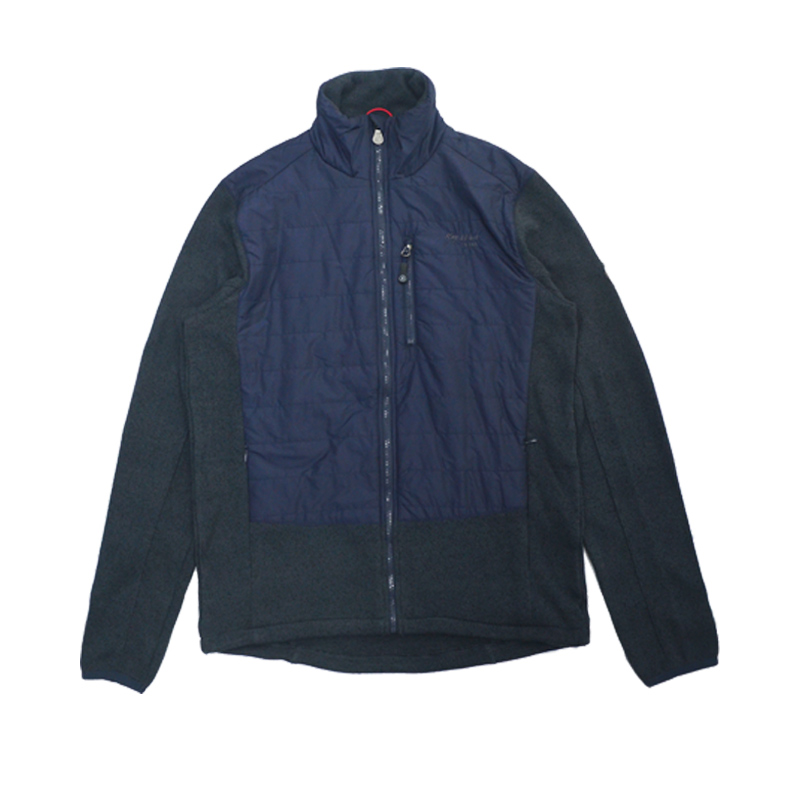 ningbo fuzhi garments Mens casual knitted zipper jackets winter thermal loose knit