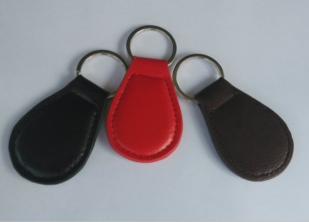 RFID Leather Key Fob AG1