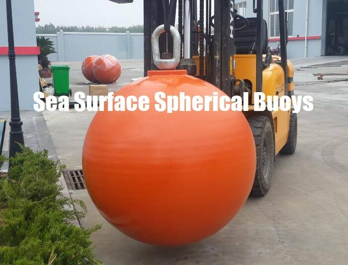 SPHERICAL STEEL MOORING BUOYS, Subsea Surface, Hollow or Foam filled available.