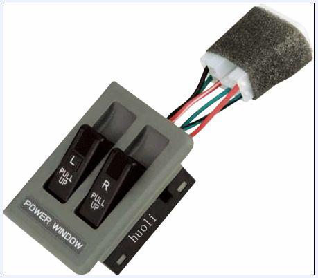 Power window regulator switch for KIA protier OK770-66-350